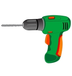 Tools drill electric vector