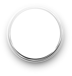 White round background vector
