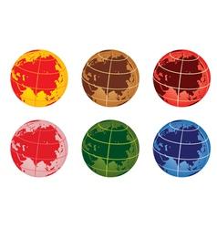 globe6 vector image