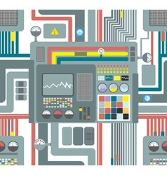 Seamless pattern control system technological vector