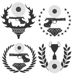 Shooting sports vector