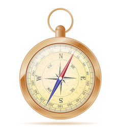 Compass old retro vintage icon stock vector