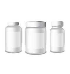 Medical plastic packaging vector