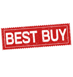 best buy grunge rubber stamp vector image