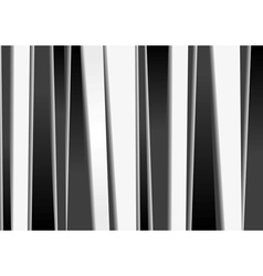 Black and white stripes backdrop vector