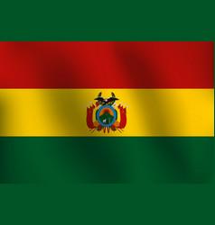 sg170602-flag of bolivia - vector image