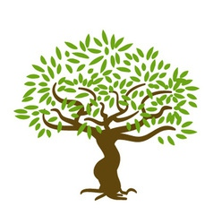 Simple Tree vector image vector image
