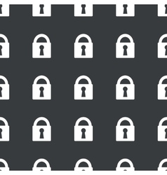 Straight black locked pattern vector