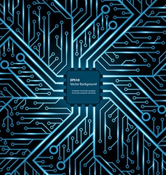 Electronic chip background vector