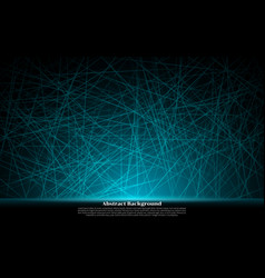 abstract neon blue lines effect shiny realistic vector image