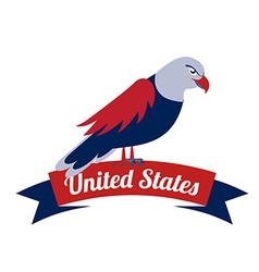 american design vector image