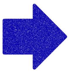 arrow right icon grunge watermark vector image