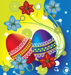 Easter holiday vector image vector image