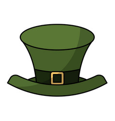 Elf hat saint patrick day vector