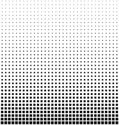 Rectangle Halftone Element Monochrome Abstract vector image