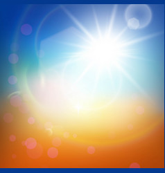 Light summer abstract background vector