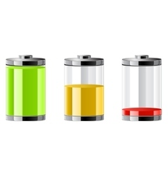 batteries symbol vector image