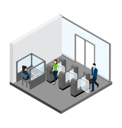 Underground entrance vector