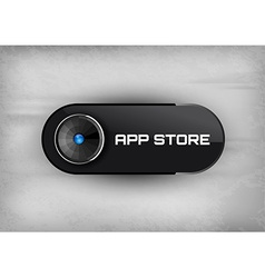App store buttons vector