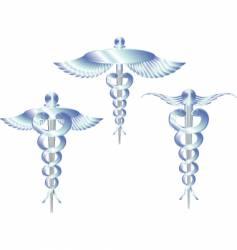 Caduceus logo vector
