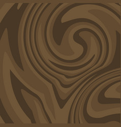 Flat brown wood background dark wooden texture vector