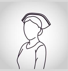 Nurse logo icon design vector