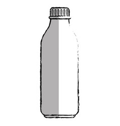 plastic bottle isolated icon vector image