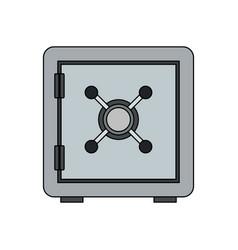 safe box icon image vector image