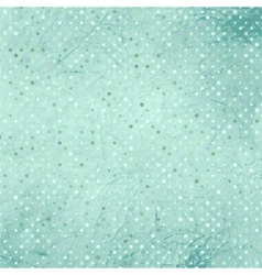 vintage polka dots background vector image vector image