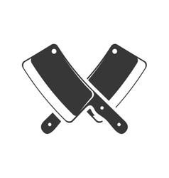 Knife icon steak house design graphic vector