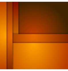 Abstract orange corporate background vector