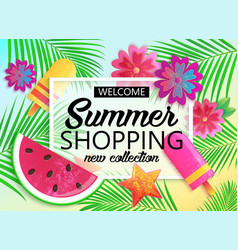 Big summer sale background for banner wallpaper vector