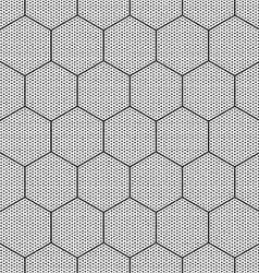Hexagons texture vector image vector image