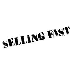 Selling Fast rubber stamp vector image