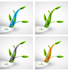 spring concept vector image vector image