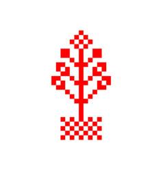 Flowerpot symbol vector