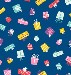 Party presents colorful seamless pattern vector