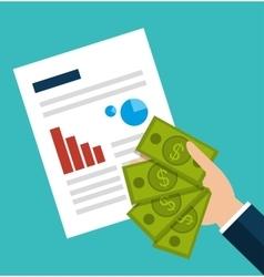 Crowdfunding savings concept icon vector