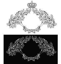 royal frames vector image vector image