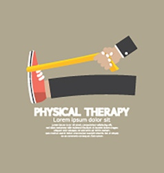 Physical therapy vector