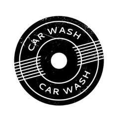 Car wash rubber stamp vector