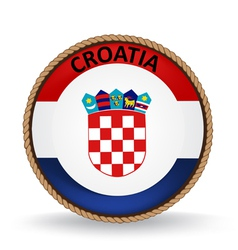 Croatia seal vector