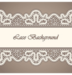 Old lace background vector