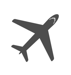 Airplane icon airplane contour vector