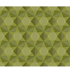 Army seamless pattern Geometric Military texture vector image