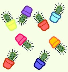 Cactus seamless 4 vector