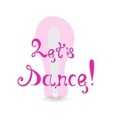 The invitation to dance vector