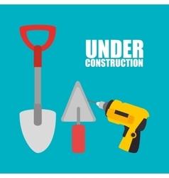 Web under construction design vector