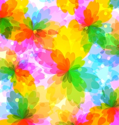 Colourful bright background vector image