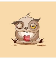 Owl good morning vector